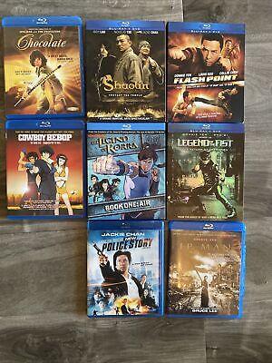 Kung Fu Blu Ray Lot Shaolin Legend Of The Fist 8 Blu Rays