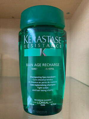 Kerastase Resistance Bain Age Recharge 8.5oz - SEALED & FRESH- Same Day Shipping