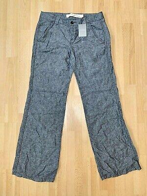 ANTHROPOLOGIE Women's Wide Leg Pants Linen Blend Size 10 NWT Retail $88