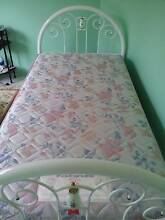 King Single Bed frame + mattress (Excellent CONDITION) Green Valley Liverpool Area Preview