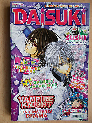 Manga , Daisuki , Lifestyle Made in Japan , Band 4 , 2008 , Carlsen-Verlag