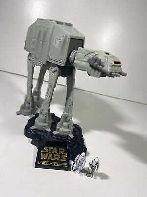 Star Wars Micro Machines Action Fleet Imperial AT-AT + Articulated Miniatures