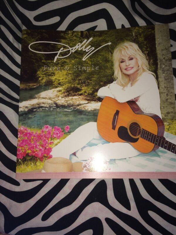 Dolly Parton Pure & Simple 2016 Tour Book