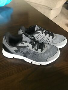 Under armour sneakers, kids size 2