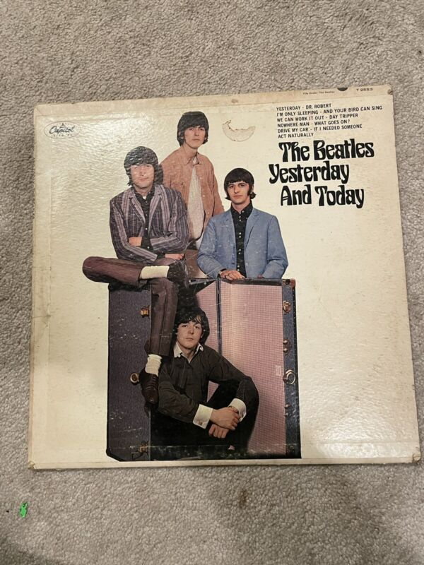 the Beatles yesterday and today lp Original Press (Rare)