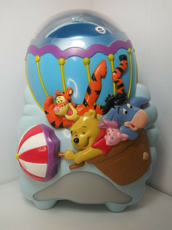 2003 Disney Baby First Years Winnie The Pooh Musical Soother Light Projector