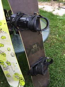 Snowboards burton and k2