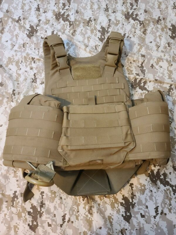 USMC Plate Carrier All Soft Inserts SIZE MEDIUM Currently issue