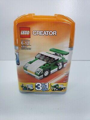 New LEGO Creator Mini Sports Car 6910 Sealed Box 3 in 1 Flatbed truck Race Car