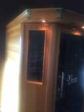 Far infrared Sauna RRP $5900 Sell $2900 Mermaid Beach Gold Coast City Preview