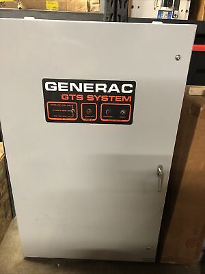 Generac Gts System 300amps 1639630100 Transfer Switch