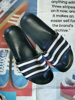 UK9 vintage Adidas Sliders made in Yugoslavia 80s 90s