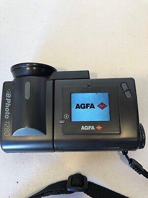 Vintage AGFA ePhoto 1280 Digital Still Camera With Memory Card Works Great Digital Still Camera Memory