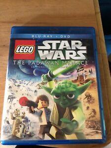 Star Wars blue Ray The Padawan Mennace DVD