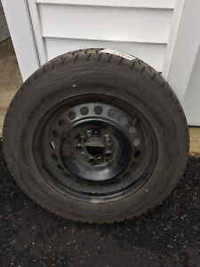 Dunlop Maxx Winter Tires 195/65/R15 with rims