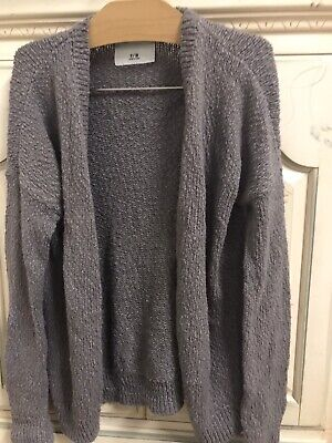 GUC Abercrombie Kids Brown Cardigan Sweater Girls Sz 9 10