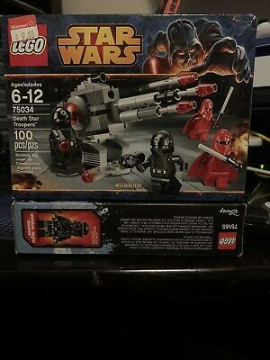 Lego Star Wars 75034 Death Star Troopers Set 75034 New Factory Sealed
