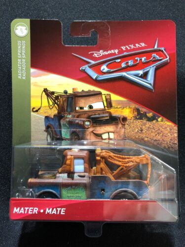 Disney Pixar Cars 3 Mater 1:55 Die-Cast Car NIP