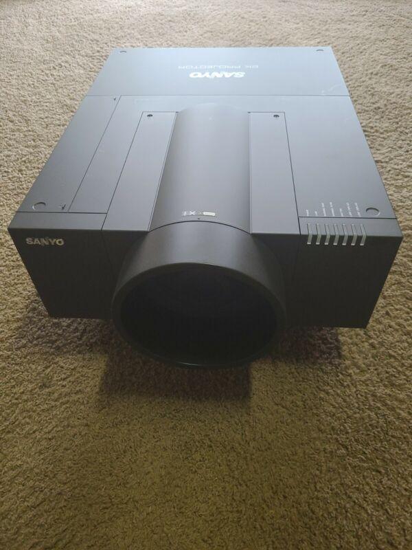 SANYO PLC-HF10000L 2k Projector, Long throw, 10k Lumens, lightly used