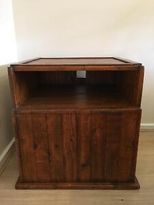 Rustic timber TV cupboard Port Lincoln Port Lincoln Area Preview