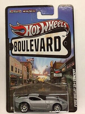2012 Hot Wheels Boulevard Concept Cars Ford Shelby GR-1 Concept - FREE SHIPPING