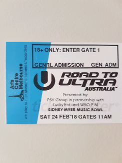 Road to Ultra ticket