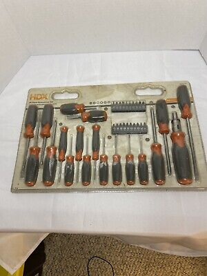 HDX Screwdriver Set-Old Packaging, Unopened Tools