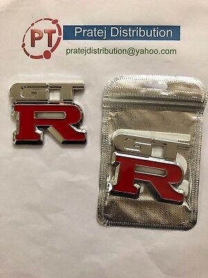 (Car styling GTR LOGO Emblem Badge Decal Metal Car Sticker GT-R universal)