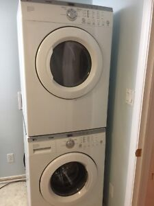 Can deliver Fully working Washer/DRyer Stackable LG Tromm