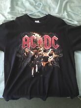 Large AC/DC Australian black ice tour t-shirt Worrigee Nowra-Bomaderry Preview