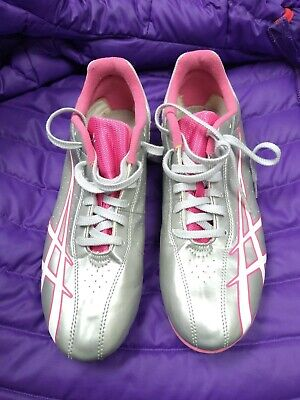Aasics Running Sneakers For Women gray and pink  Size 9,5 See description