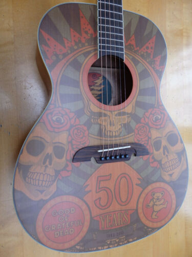 MIB Alvarez AF65-GD Grateful Dead 50th Anniversary Guitar - Limited Edition