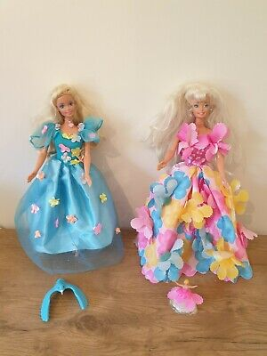 VINTAGE BARBIE DOLLS BLOSSOM BEAUTY & SONGBIRD WITH ACCESSORIES PRINCESS DOLL