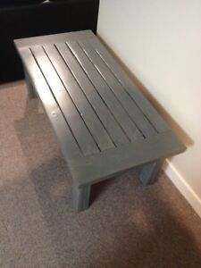Brand new locally made coffee table - grey