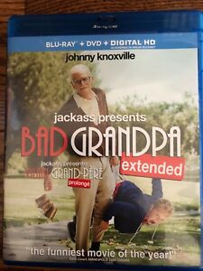 Bad Grandpa Extended edition Bluray