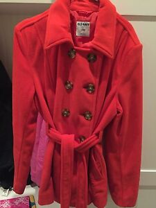 Reddish coat- perfect condition - large