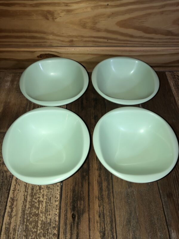 Vintage Boontonware Bowls Small (4 total) Mint Green Color 1303-10 USA