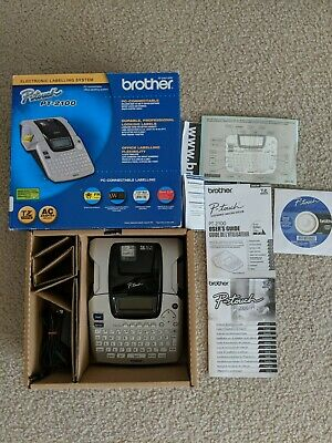 Brother P Touch Pt-2100 Label Maker Label Printer