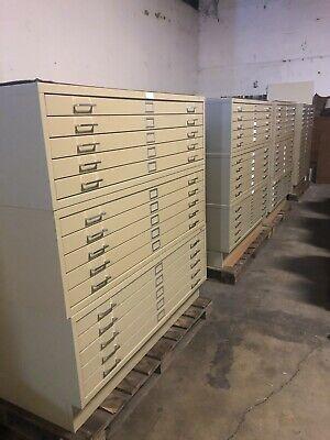 Safco 5-drawer Steel Flat File Cabinet