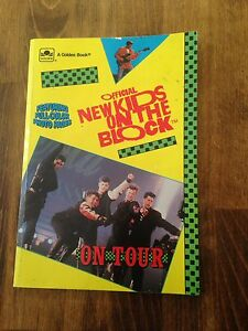 Official New Kids On The Block - On Tour- book