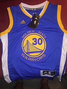 NBA champs youth Warriors Curry Jersey