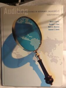 Auditing  Textbook - The art and science of assurance engagement
