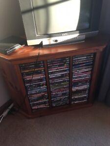 Corner Tv DVD Storage Unit