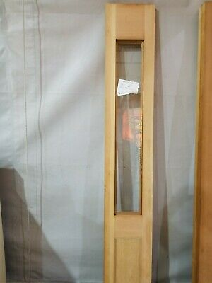 Glass Door Solid Wood - Solid Wood Door Side Light With Tempered Glass 12