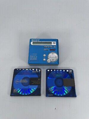 Sony MZ-R70 MD Walkman MiniDisc Recorder Player (Read Desc) RARE
