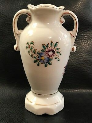 Small 1947-1952 Hand Painted Porcelain Vase Vintage Occupied Japan