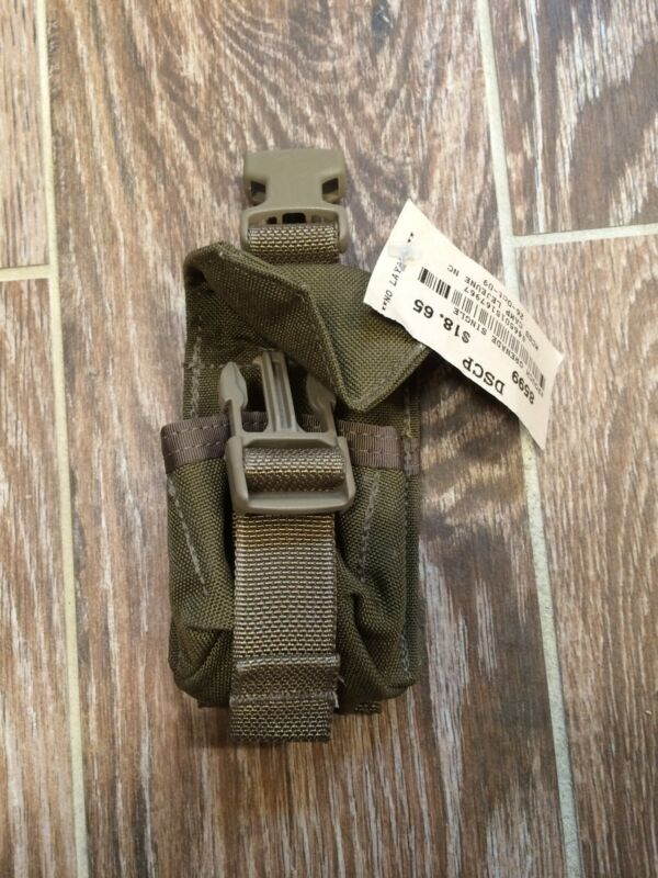 Hand Grenade pouch Coyote Brown Molle II NSN 8465-01-516-7967