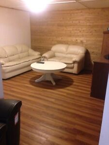 Room in basement apartment