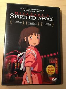 MIYAZAKI'S SPIRITED AWAY DVD SET ANIME / ANIMATED