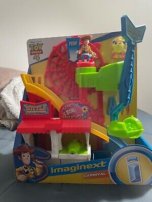 Imaginext Fisher-Price Disney Pixar Toy Story 4 Carnival Playset